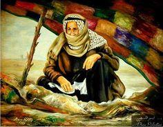 لوحة للفنان الفلسطيني / عصام محمد حلس