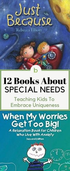 Check out our list of The Best Children's Books About Special Needs. We highly recommend these stories for kids with special needs, their siblings, their friends, their classmates, parents… and everyone in between. #beenke #ChildrensBooks | Reading, mom, ideas, products, activities