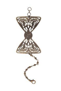 Bracelet manchette Noeud Papillon Virginie Mahe