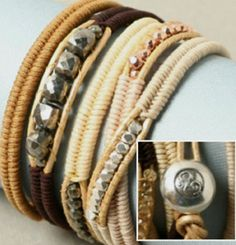 herringbone wrap bracelet tutorial