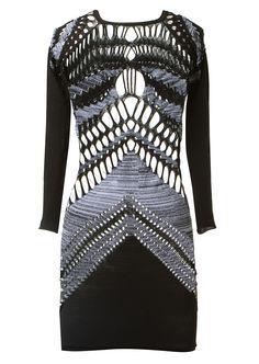 Mark Fast Dresses :: Mark Fast openwork knit dress   Montaigne Market