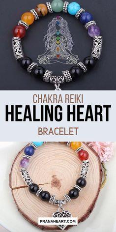 Meditation Black Onyx Alignment Prana Mala Bracelet Amethyst Crystal Mala Beads Reiki Healing Clears Confusion Amazonite