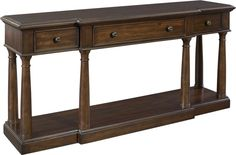 Hall Console  Find out about this and other well-crafted Thomasville furniture when you visit your nearest Thomasville retailer. There, our designers will help you realize the perfect home that you've always imagined.