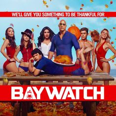 Happy #Thanksgiving everyone! Many things to be grateful for… including this crazy family! Baywatch Movie #Baywatch Dwayne The Rock Johnson Zac Efron Alexandra Daddario Kelly Rohrbach #JonBass #Ilfenesh