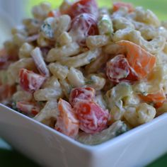 This Creamy Macaroni Salad is a real crowd-pleaser.  It is perfect for your next patio party but simple enough for a week night dinner with grilled steak and corn.  With all the wonderful vegetables the presentation is phenomenal.  My late mother in law made a wonderful macaroni salad.  She would put small bits of cubed... Read More »