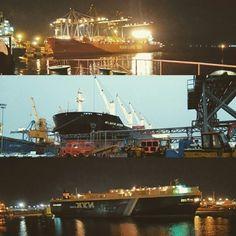 Veracruz port vessels
