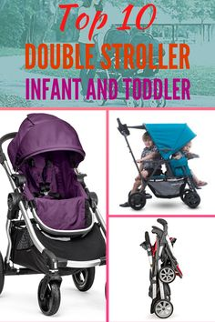 If you have any trouble to find the best double stroller for infant and toddler, take a look at this reviews of best double stroller for twins to choose the right products of best baby stroller. Best Twin Strollers, Best Travel Stroller, Double Baby Strollers, City Select Stroller, Baby Jogger City Select, Double Stroller For Toddlers, Double Stroller Reviews, Best Double Stroller, Best Lightweight Stroller