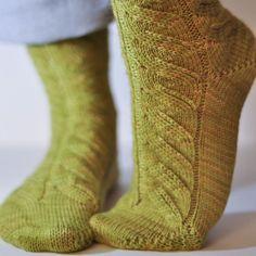 Chaussettes Pistache / Tricot chaussettes / Knitting socks