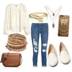 Featuring fashion style H&M Frame Denim Charlotte Olympia MICHAEL Michael Kors Chan Luu Bling Jewelry
