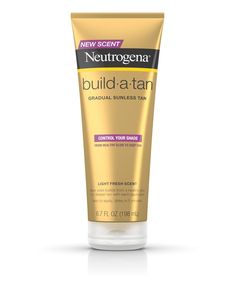 Control your shade with Neutrogena Build-A-Tan® Gradual Sunless Tan Lotion. Moisturizing self-tanning lotion leaves skin with a natural-looking tan all year round, never feel pale again. Safe Tanning, Best Tanning Lotion, Self Tanning Lotions, Tanning Cream, Tanning Tips, Suntan Lotion, Body Lotion, Tanning Products, Best Self Tanner