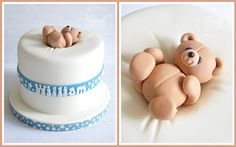 cute baby shower / new baby cake