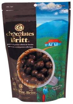 Dark Chocolate Covered Gourmet Coffee Beans From Costa Rica: Amazon.com: Grocery  Gourmet Food