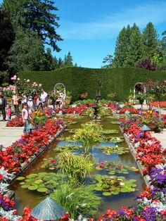 The Butchart Gardens, British Columbia, Canada