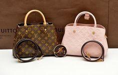 กระเป๋า LV Montaigne BB Monogram & Empreinte (สีซากุระ) ของใหม่‼️ - Iris Shop