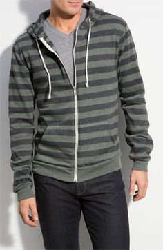 Threads for Thought Trim Fit Zip-Up Hoodie