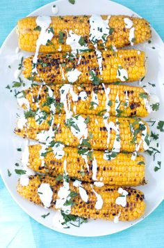 This is how to serve Summer corn on the cob.