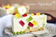 Śmietanowiec Dessert Recipes, Desserts, Vanilla Cake, Cream, Baking, Sweet, German, Polish, Foods