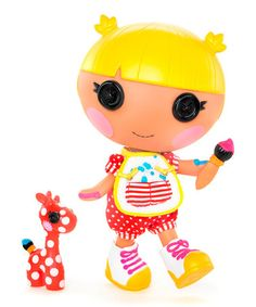 Take a look at this Lalaloopsy Littles Scribbles Splash Doll & Pet by Lalaloopsy on #zulily today!
