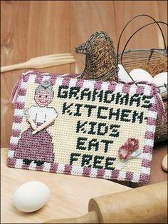 Plastic Canvas - Holidays - Grandma's Kitchen
