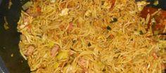 Pittige Bami Goreng Speciaal uit de wok
