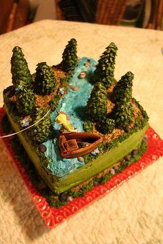 Fishing cake!