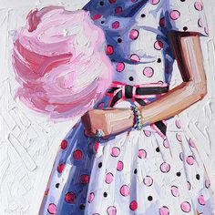 Cotton candy #painting #art