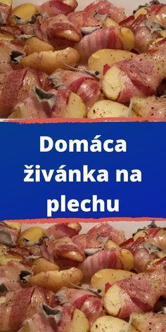 Slovak Recipes, Ham, Pork, Food And Drink, Pizza, Cooking Recipes, Menu, Chicken, Snacks