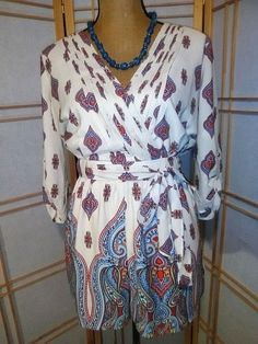 8fdf031a987 Gianni Bini Pacific Sail Romper Size M  fashion  clothing  shoes   accessories