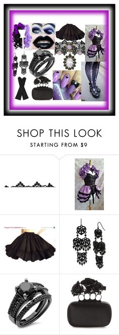 """""""Another OC of mine (;ω;)"""" by kawaiireborn ❤ liked on Polyvore featuring Naoto, Betsey Johnson, Alexander McQueen and AGNELLE"""