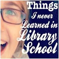 Articles about the things they don't teach you in library school