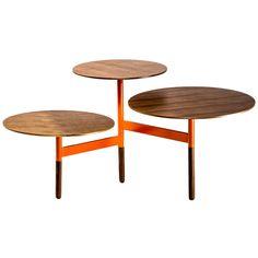 Lily Pad Coffee Table Orange  by Blu Dot X Fab
