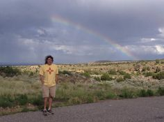 A New Mexico rainbow. :) 6/11/15 all photos from our drive: http://coloradoguy.com/four-corners/photos.htm