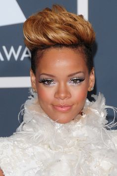 Rihanna aux Grammy Awards 2010