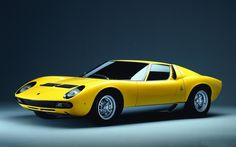 """'66 Lamborghini Muira like the one in the upcoming time travel/alt history story """"To Die A Spy"""""""