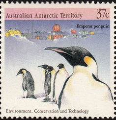 1988 penguin stamp
