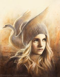 Little Swan. Art by Svenja