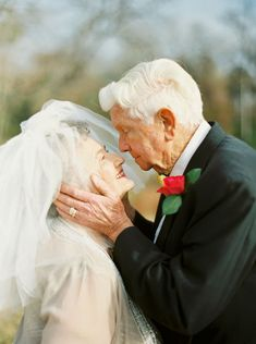 Grandparents Have The Sweetest Photoshoot To Celebrate 63 Years Of Being In Love