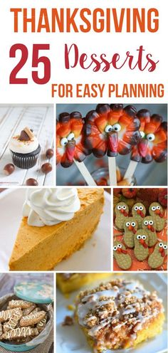 Looking for the perfect Thanksgiving desserts recipes to serve to your guests this year? Here are some of our favorites Thanksgiving desserts recipe ideas.