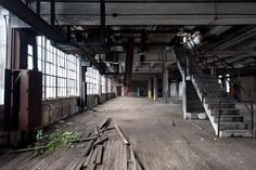 Industry and Nature - Factory Interior by City Eyes, via Flickr