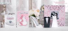 Wedding season is approaching fast...Make a handmade card and gift for the Newlyweds!!    Love Always SVG Kit - $6.99 : SVG Files for Silhouette, Sizzix, Sure Cuts A Lot and Make-The-Cut - SVGCuts.com