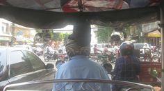Sweating it out in Phnom Penh #PhnomPenh #Cambodia #Asia #tuktuk #travel #blog #bloggeries #beatit #SHABL