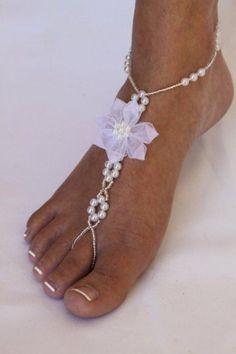 bridal sandals for beach wedding