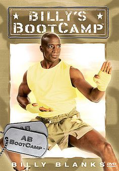 SEALED NEW Billy Blanks AB Abs Bootcamp Workout Training Body Fit DVD 2005
