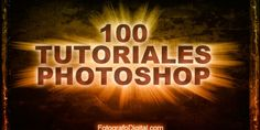 100 video-tutoriales de Photoshop en español