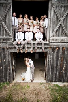 Amazing Wedding Party Picture - Wedding Photography to Inspire