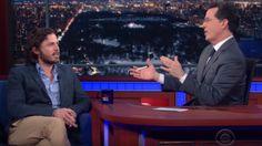 02-27 Stephen Colbert and Casey Affleck make for an incredibly... #CaseyAffleck: 02-27 Stephen Colbert and Casey Affleck… #CaseyAffleck