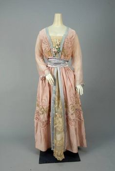 """Happiness"" dress, by Lucile, ca. 1916  Whitaker Auctions"