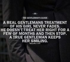 A gentleman knows that treating her special over and over keeps things more meaningful. #chivalry