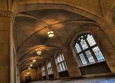 Historic and beautiful; the Law Quad at the University of Michigan in Ann Arbor