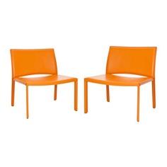 Garret Leisure Chair Pair Orange, now featured on Fab.